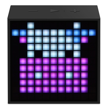 Divoom Divoom TimeBox Mini Pixel Art Smart Siyah Bluetooth Hoparlör Siyah